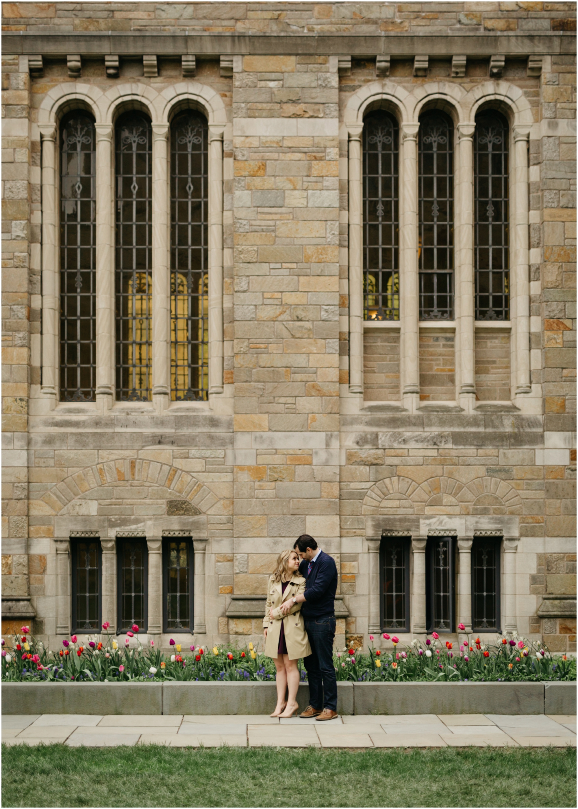 Yale Engagement Photo Session