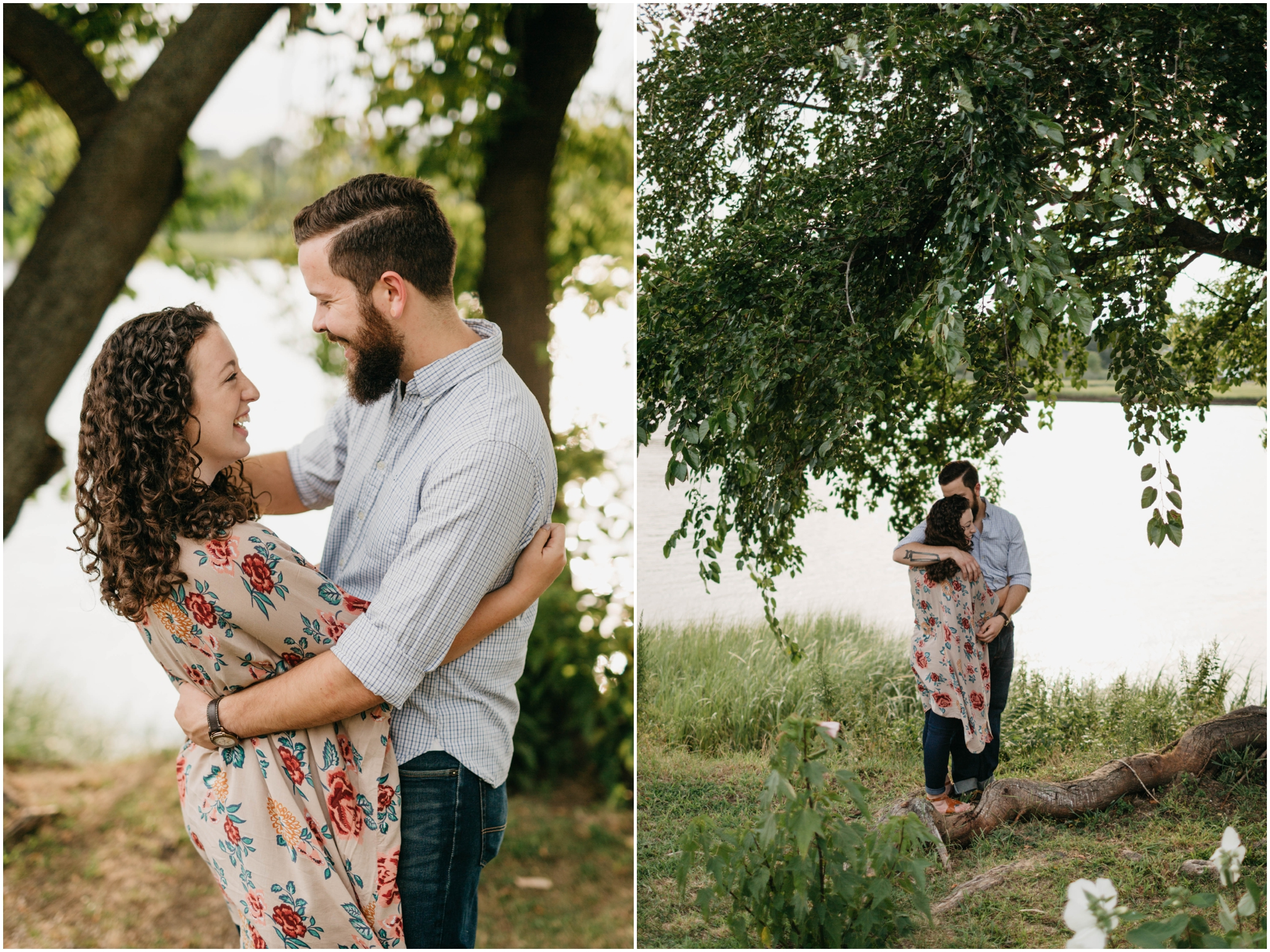 Connecticut Engagement Session At Home